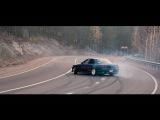 Nissan Skyline R32 2JZ-GTE Дрифт на перевале