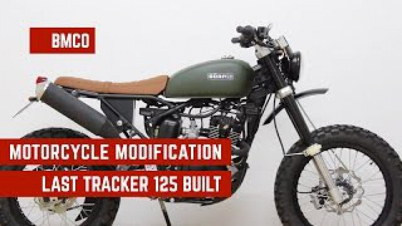 Born Tracker 125 - Motorcycle Modification - Last Tracker 125 Built 03