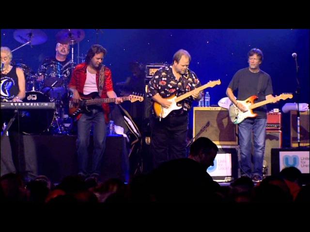 John Mayall Feat. Eric Clapton Chris Barber - Hoochie Coochie Man - Liverpool 2003