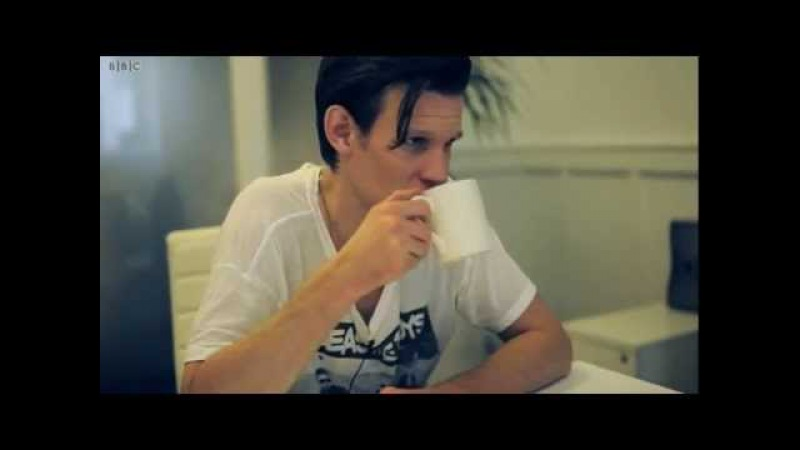 Matt Smith on the Dangerous Side of the Shoot - Doctor Who Christmas Special 2011 - BBC One