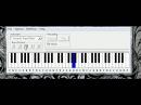 Программа на пк DSW Piano синтезатор с эффектами