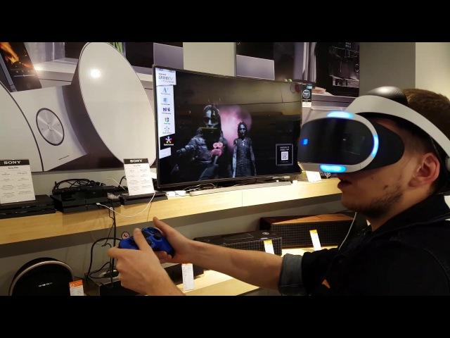 Виртуальня реальность PS4 SONY VR