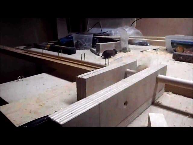 Изготовление древка стрелы part-3