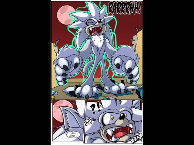 Silver the Werehog transformation