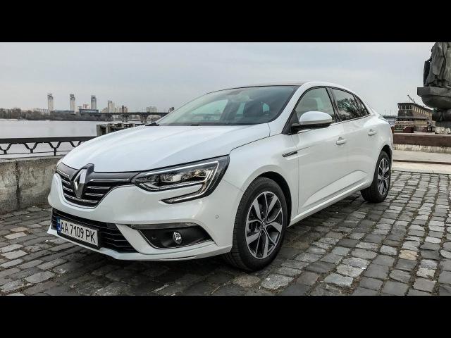 Renault Megane Sedan 2017: тест-драйв обзор 1.5 dCi EDC седан
