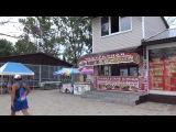 Прогулка по набережной поселка Вардане Лазаревского района города Сочи. Lazarevskoe SOCHI RUSSIA