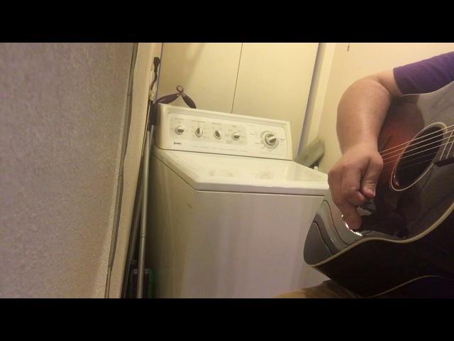 The Devil Went Down To Georgia White Trash Washing Machine Cover
