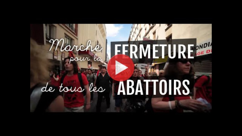 Скоро состоится очередной марш за закрытие скотобоен (Франция)