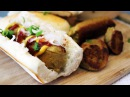 Vegan Hot Dogs Scallion Seitan Sausages Marys Test Kitchen