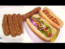 Homemade Vegetarian HOT DOG - Video Recipe - Vegan Gluten free