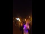 Вечерняя прогулка с жиной)))