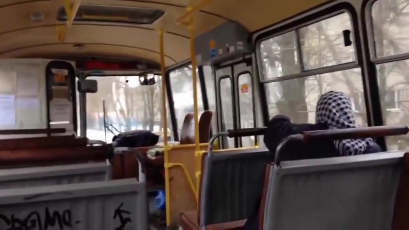 Сумасброд(продолжение) или как выкинуть бабульку с автобуса...