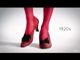 100 лет красоты: женская обувь
