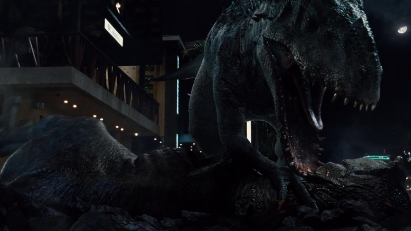 Фрагмент Мир Юрского периода - Эпическое сражение динозавров