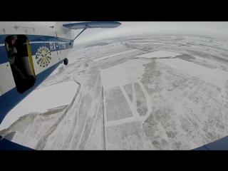 Наш первый прыжок с парашютом! 18.02.2017