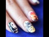 Ногти с персонажами Миядзаки