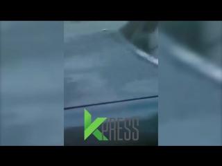 Опасно водить в Бишкеке. Выезд на встречную полосу