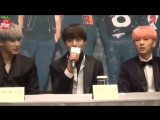 VK20161217 MONSTA X press conference In Taipei The First Asia FanMeetingin @ TW