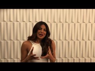 Приянка благодарит Filmfare за награду