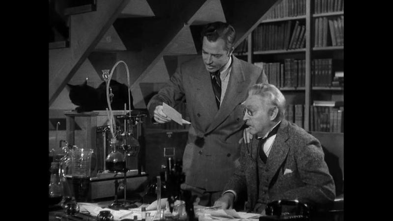 Женщина-невидимка(Фантастика.Комедия.1940)