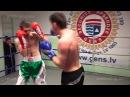 Marcis Bumbiers (Rīga) – 68,9 kg. VS Ivans Ļevickis (Daugavpils) – 67,6 kg.10.12.2014 proboxing.eu