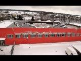 80 человек чудом спаслись при обрушении крыши спортивной арены в Чехии