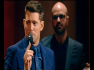 Michael Bublé on stage live me and Mrs Jones 03-11-2016