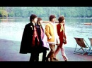 ♫ The Beatles photos walking by the Serpentine in London's Hyde Park 1967