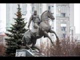 Открытие нового памятника генералу Михаилу  Скобелеву, 9 декабря 2014, на Юго-Запад...