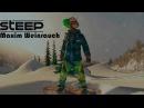 Steep 4K Crazy Snowboarding Edit Maxim Weinrauch