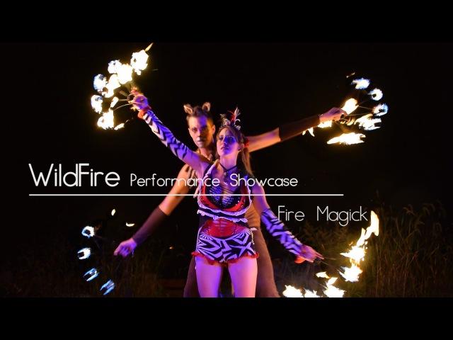 Веера Fire Magick — Fire Fans — WildFire Performance Showcase
