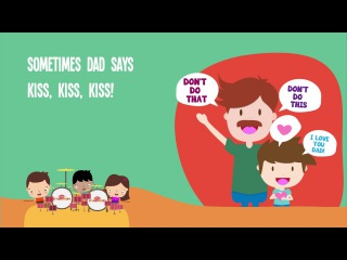 Sometimes Dad Says Song for Kids | Father's Day Songs for Children | The Kiboomers