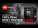10x Sachet 100% Real Whey Protein - Promotes Muscle Growth | Prozis Sport
