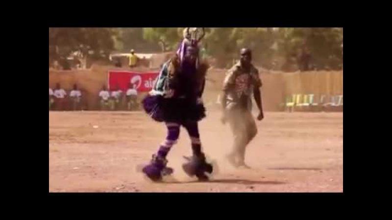 Zaouli dance from Manfla Manu Chao - Bongo Bong (drum'n'bass remix)