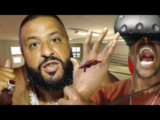 DJ KHALED MADE ME BUST MY HAND OPEN || The Thrill Of The Fight VR Boxing