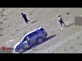 Ирак. Уничтожение колонны бармалеев ДАИШ под Эль-Фаллуджей. Интересное видео