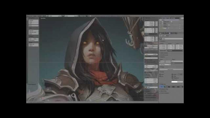 Demon Hunter Speed Modeling - Part 01