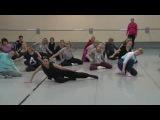 №775 Методика современного танца для детей 7-12 лет. Партер. Ксения Каплун, Екатери ...