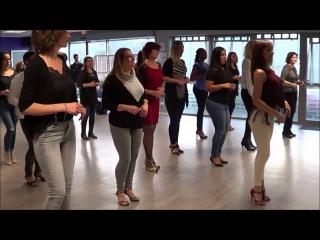 Ladies Style Kizomba By Sara Panero - Janvier 2017 - Studio LMK Danse
