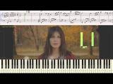 UMA2RMAN  (Уматурман) - Налей мне (Ноты для фортепиано) (piano cover)