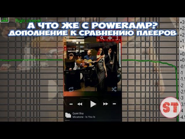 А что же с PowerAmp? - дополнение к сравнению плееров