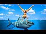 Приколы в играх WDF 8 Лучше акулы, чем Тревор Смешные моменты из GTA 5, WWE, FIFA 15