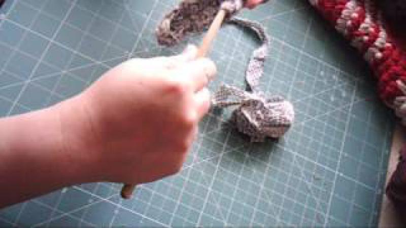 Как связать прямоугольный бабушкин коврик
