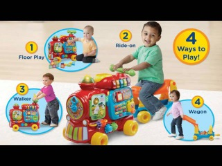 VTech Infant & Toddler: Sit-to-Stand Ultimate Alphabet Train™