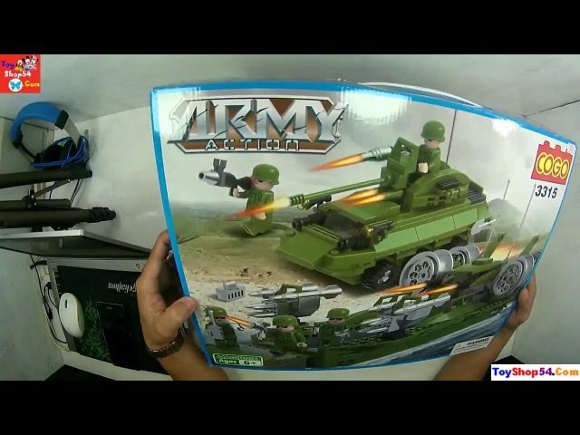 Lego Army Acyion, Bộ Lego xây dựng quân đội Mĩ 3315
