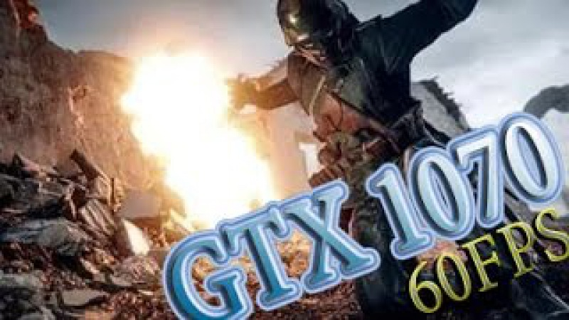 Battlefield 1 Multiplayer awesome Gameplay GTX1070 ,I7 6700K 4.2Ghz, 60 FPS !!