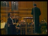 Leonid Kogan plays Shostakovich Violin Concerto no. 1 - video 1976