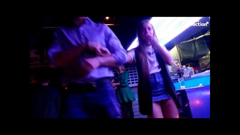 Подсмотренное видео в ночном клубе Вам
