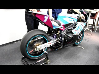Hatsune Miku EV Motorcycle Racer to compete in the Isle of Man TT.Motor sound of that Motorcycle.