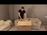 Детская Кроватка Трансформер - Распаковка и Обзор